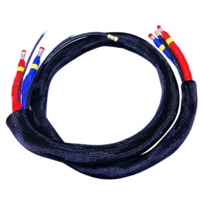 High Pressure Braided Heated Whip Hose