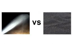 Dustless vs Conventional Sandblasting