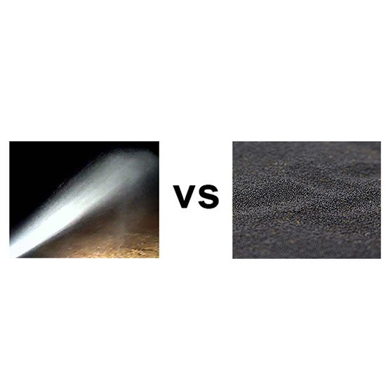 Dustless Blasting vs Conventional Blasting