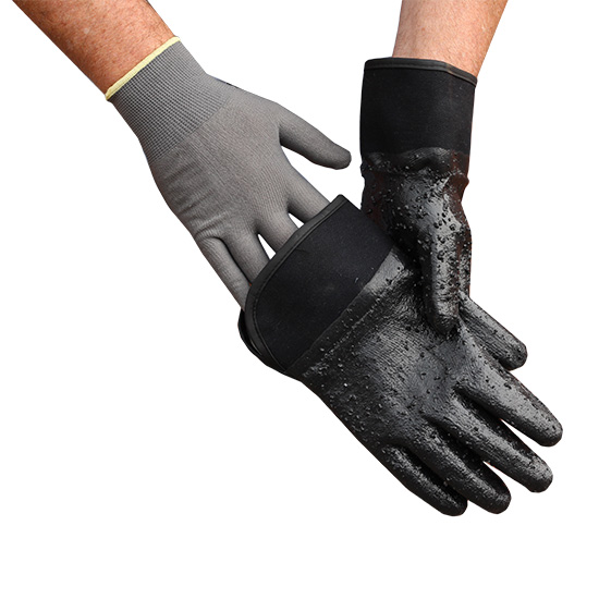500 Bar Protective Gloves Inner Display